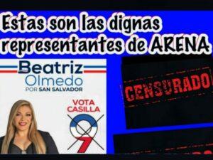 ¡ATENCIÓN! Debido a la aceptación que ha tenido Beatriz Olmedo, intentan boicotear campaña de manera sucia y denigrante.